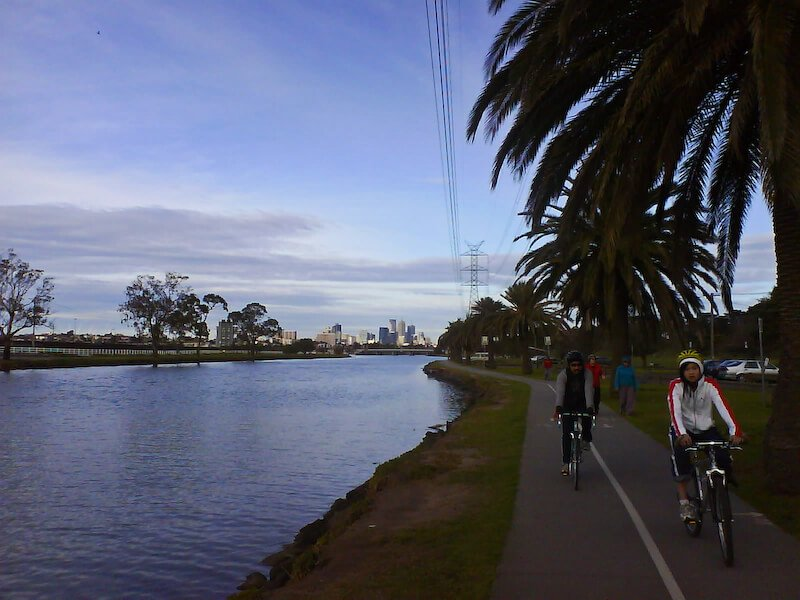 The Maribyrnong River compliments of http://www.flickr.com/photos/strausser/3757639048/