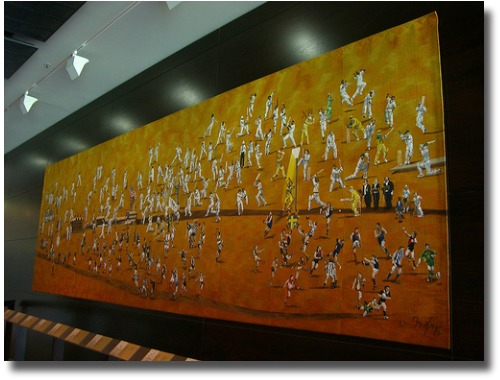 mellbourne cricket ground tapestry compliments of http://www.flickr.com/photos/44743850@N00/1659184407/