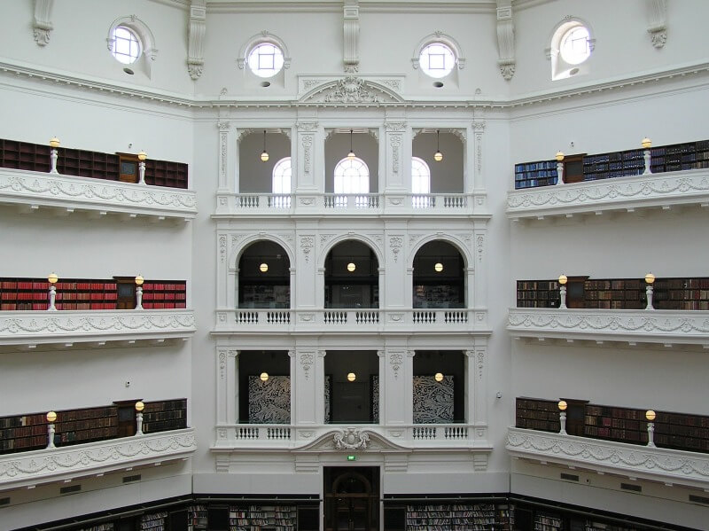 The Melbourne State Library