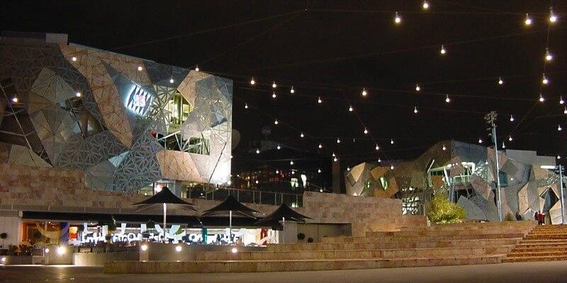 Federation Square Melbourne Australia