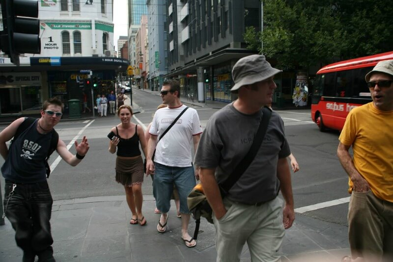 Melbourne sightseeing compliments of http://www.flickr.com/photos/ssandars/90125284/