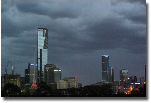 New Years Eve Storm Melbourne - Australia 2009 compliments of http://www.flickr.com/photos/35314767@N00/4236011354/