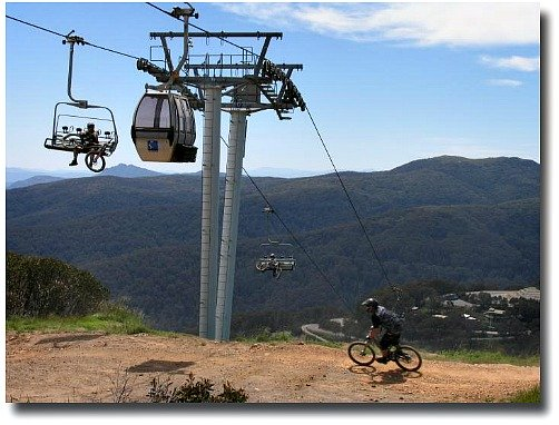 Mt Buller in Summer compliments of my English mate Steve Curle