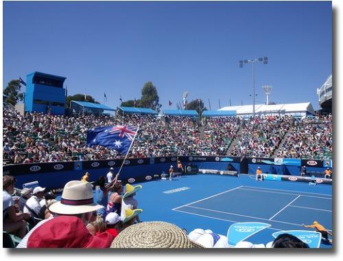 Tennis centre - Melbourne, Australia compliments of http://www.flickr.com/photos/goog2008/3640243690/