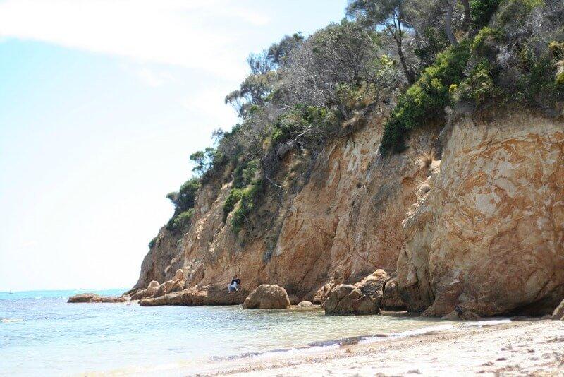 Mt Martha cliff face Mornington Peninsular Melbourne Australia compliments of http://www.flickr.com/photos/fairleytrashed/100040991/