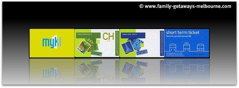 Myki card collage