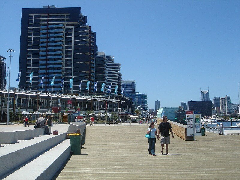 docklands newquay in melbourne, Australia