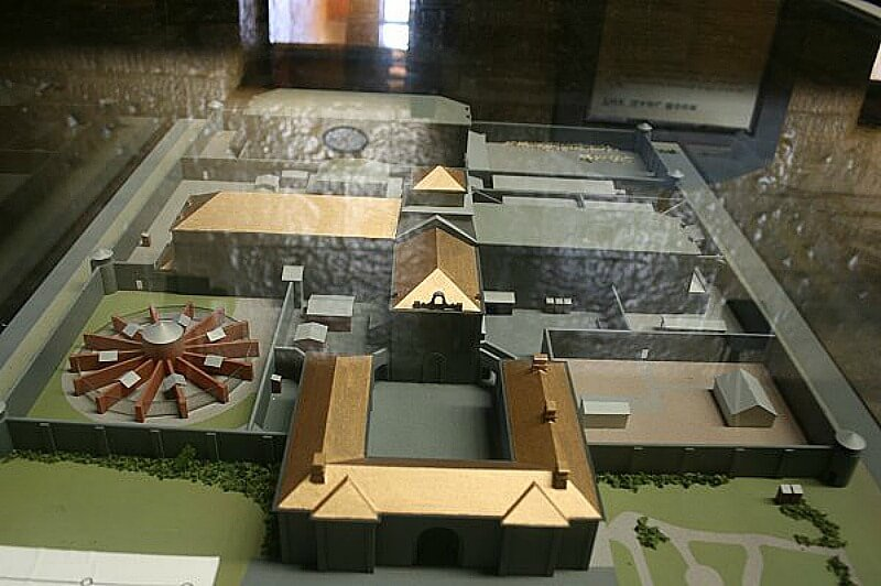 Model Of The Melbourne Gaol