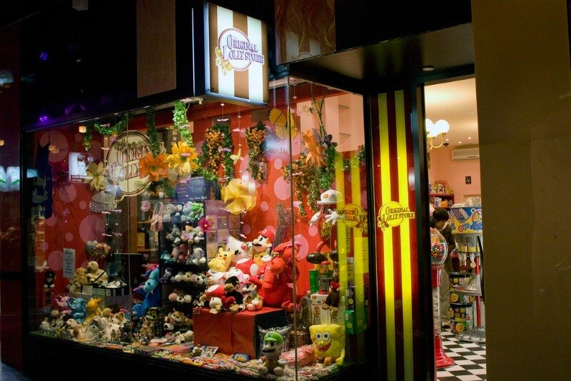 The original lolly shop in Melbourne Central shopping centre compliments of https://flic.kr/p/7TqfbT