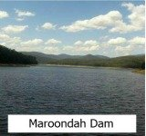 Thumbnail link to the Site page on the Maroondah Dam