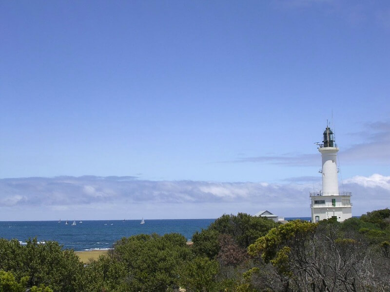 Point Lonsdale lighthouse Victoria Australia compliments of http://www.flickr.com/photos/kabl1992/340444646/
