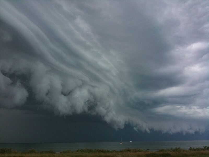 Storm on Port Phillip Bay compliments of https://flic.kr/p/8XQ58y