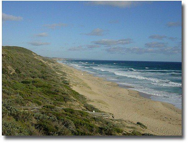 Portsea back beach Melbourne Australia compliments of http://www.flickr.com/photos/76384935@N00/401796789/