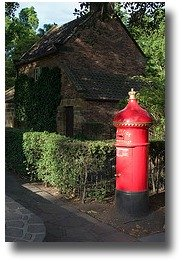 Mailbox outside Cooks Cottage in Fitzroy Gardens Melbourne Australia compliments of http://www.flickr.com/photos/jamretsam/2181163242/