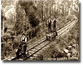 working the puffing billy line