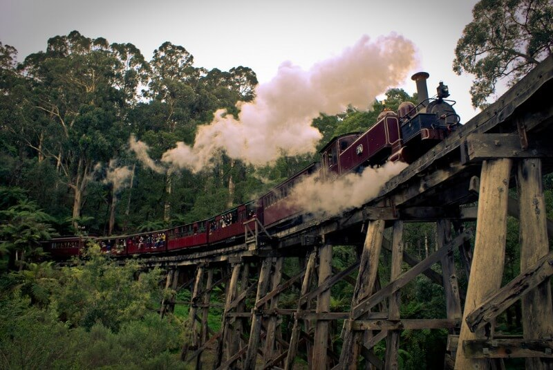 puffing billy heritage train compliments of https://flic.kr/p/6DGQH8