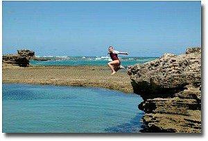 Sorrento backbeach rock pool