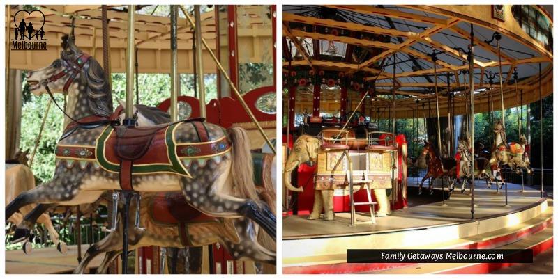 Royal Melbourne Zoo Carousel
