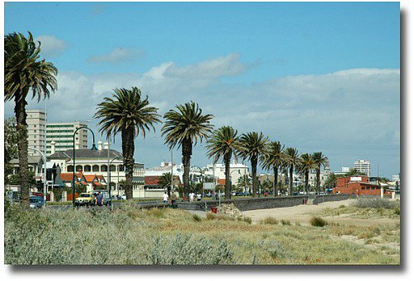 St Kilda foreshore Melbourne Australia