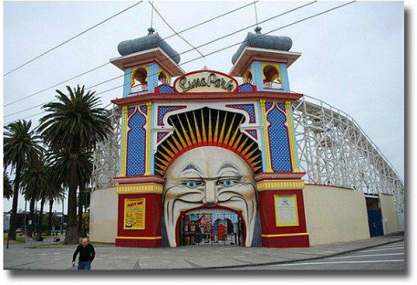 Luna Park amusement center in St Kilda compliments of http://www.flickr.com/photos/avlxyz/4300324926/