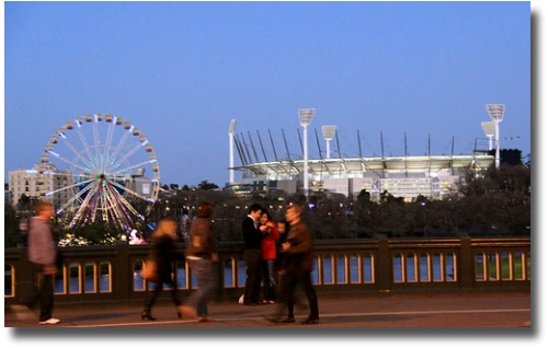 The Melbourne Cricket Ground Melbourne, Australia compliments of http://www.flickr.com/photos/charlot17/3824624194/