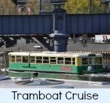 Thumbnail graphic link to the Site Page Tram Boat Cruising on the Yarra River