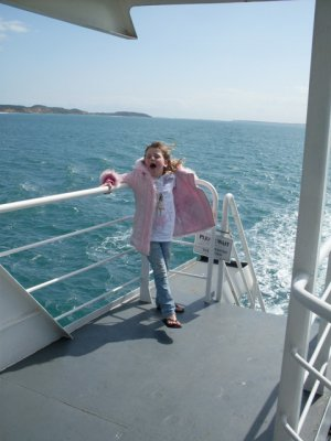 travel on the searoad ferry from Sorrento to Queenscliff