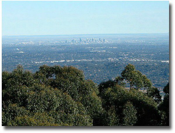 View from Mt Dandenong Lookout compliments of http://www.flickr.com/photos/dey/21534706/